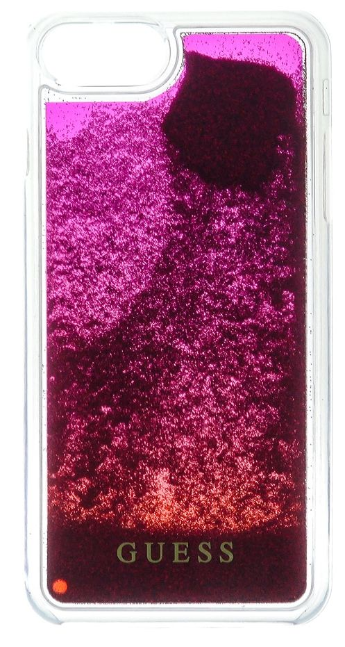 Guess iPhone 7 Liquid Glitter Hard  Pink, картинка 1