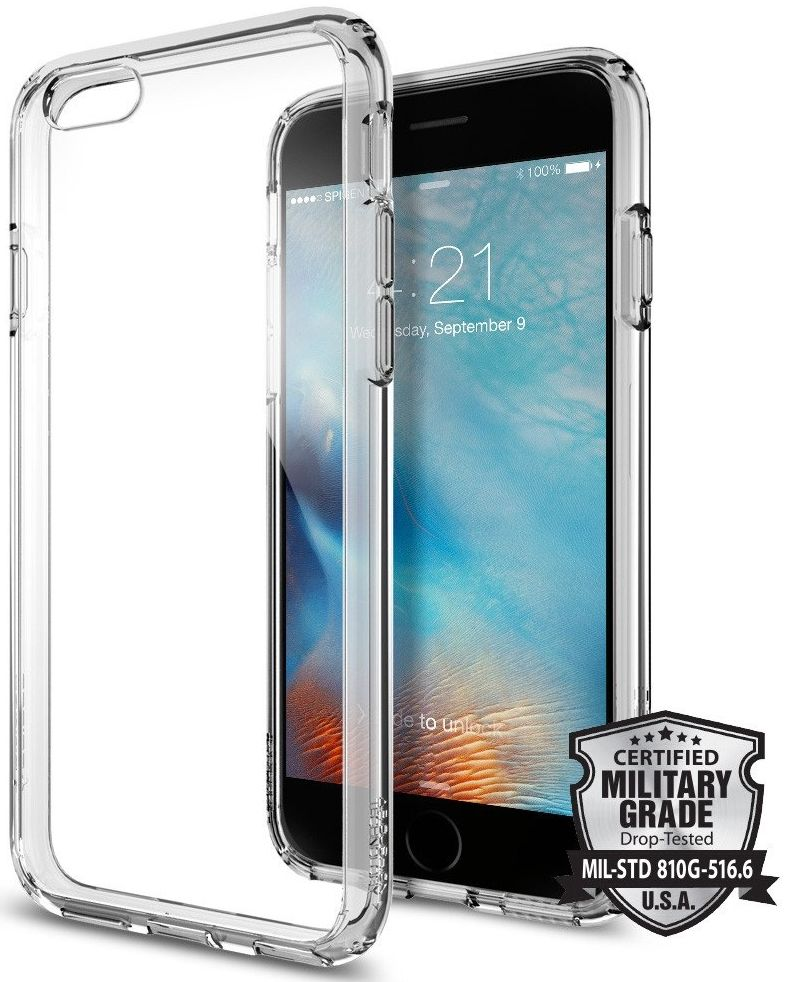 SGP iPhone 6S Ultra Hybrid - Space Crystal