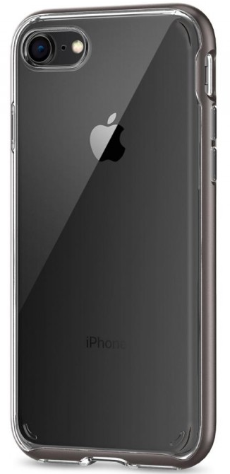 SGP Чехол iPhone 7/8 Neo Hybrid Crystal 2 Gunmetal