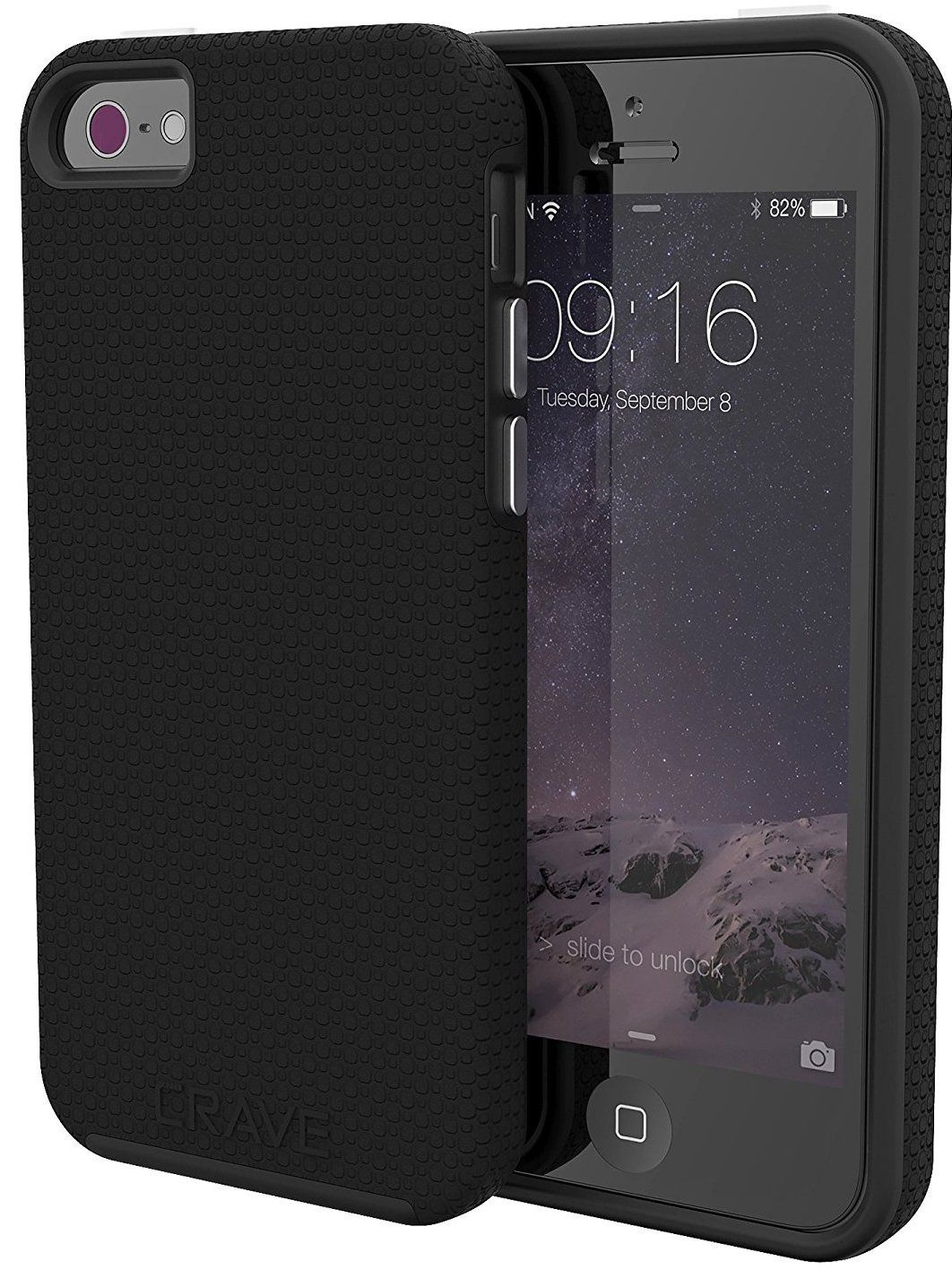 Чехол Crave iPhone 5S/SE Combo - Black