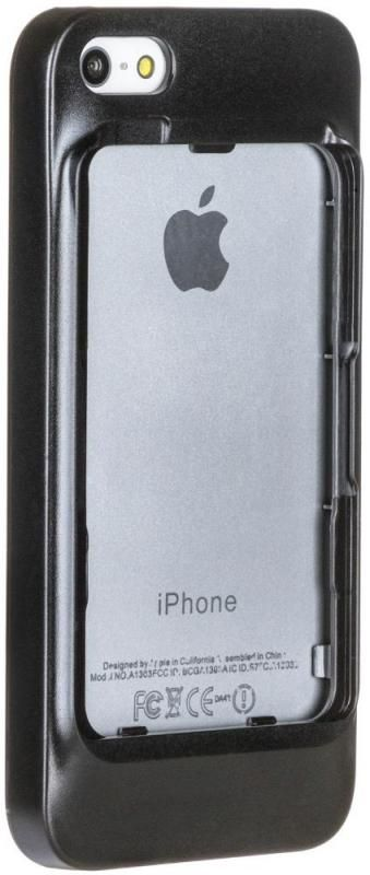 ELARI Case iPhone 5S для CardPhone - Black, картинка 2