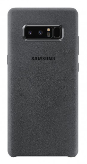 Чехол Samsung Galaxy Note 8 Alcantara - Grey