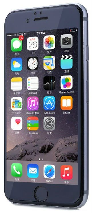 REMAX Full Cover iPhone 6/6S PET Screen Protector - Black, картинка 1
