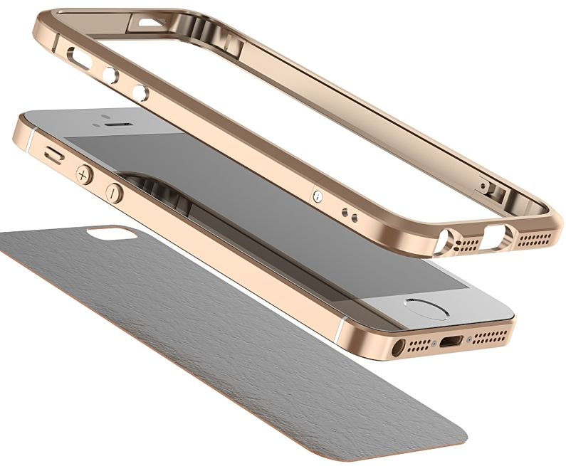 Luphie iPhone 5S/SE Bumper - Black, картинка 3