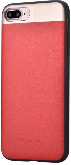 Cooma iPhone 7 Vivid Leather Case - Red, картинка 1