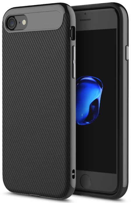 ROCK iPhone 7 Case Vision - Jet Black, картинка 1