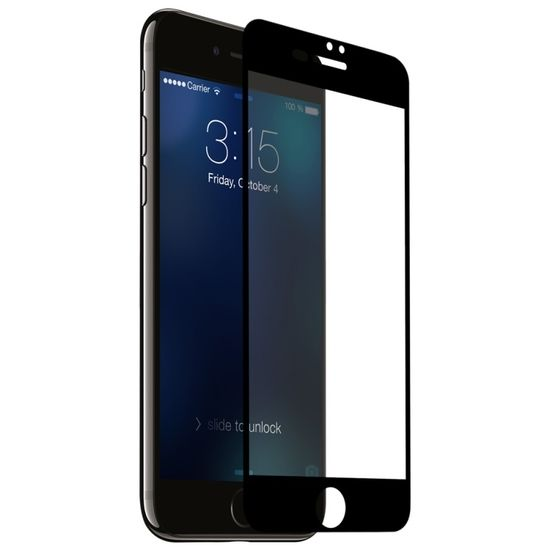 iPhone 7/8 Tempered Glass 3D Black
