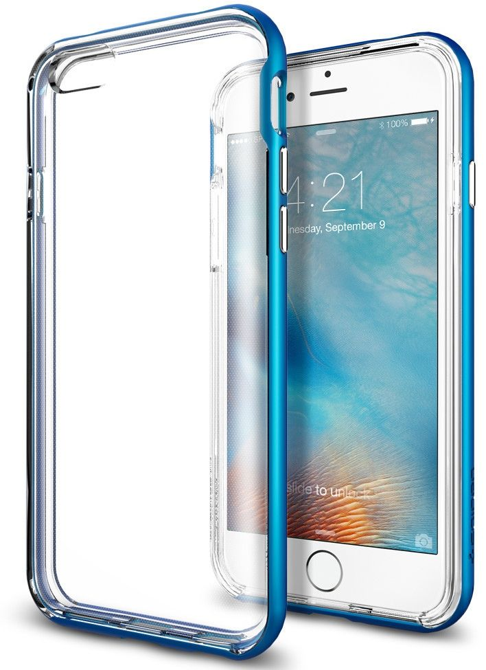 SGP iPhone 6S Neo Hybrid EX - Blue, картинка 2