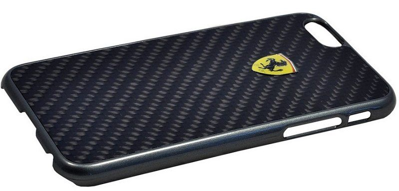 Ferrari iPhone 6 Plus Formula One Hard Real Carbon - Black, картинка 2