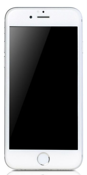 REMAX Color Full Screen Tempered Glass 6S - White, картинка 1