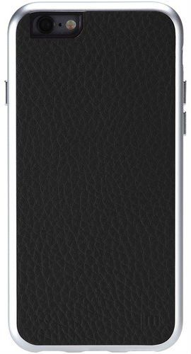 JUST mobile AluFrame Leather iPhone 6 Case - Black
