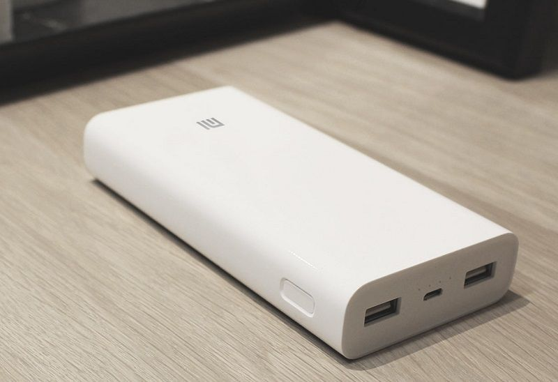 XiaoMi Power Bank 2 20000mAh - White, картинка 4