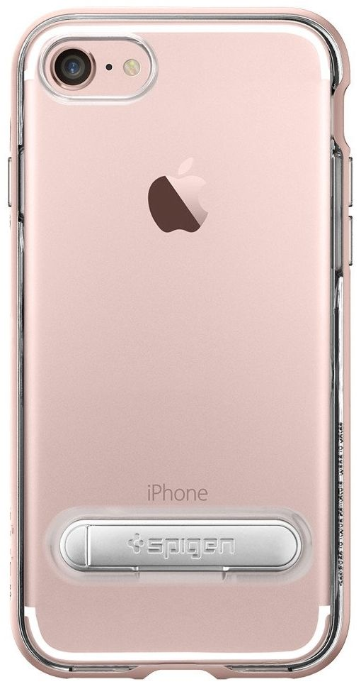 SGP Чехол iPhone 7 Crystal Hybrid Rose Gold, картинка 3