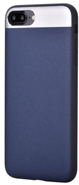 Cooma iPhone 7 Vivid Leather Case - Blue, картинка 1