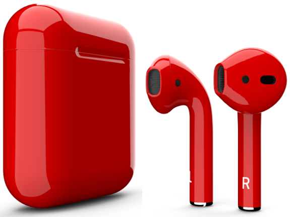 Apple AirPods (MMEF2ZA/A) Red, картинка 2