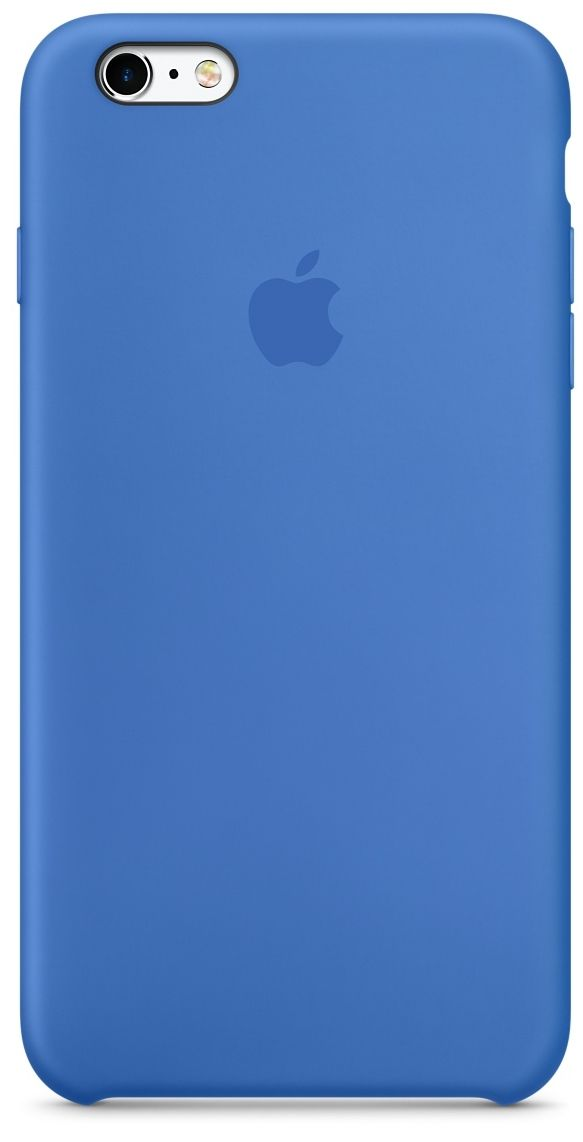 Apple iPhone 6/6S Silicone Case - Royal Blue