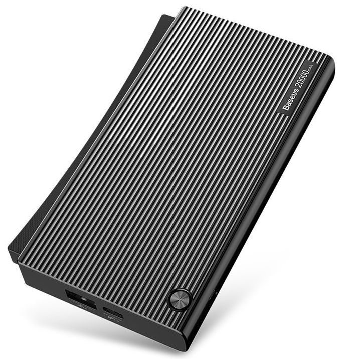 Внешний аккумулятор BASEUS Esazi Series Power Bank 20.000mah - Black