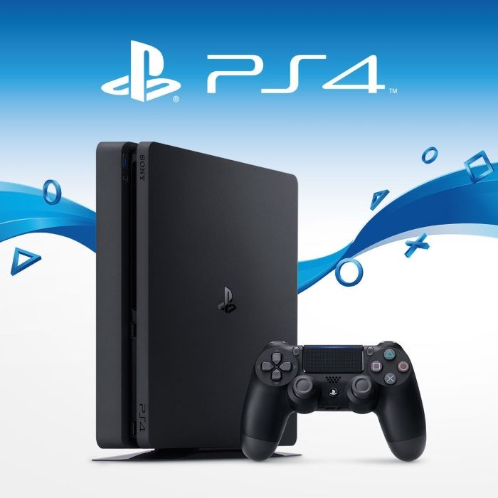 Sony PlayStation 4 Slim 1TB Black, картинка 4