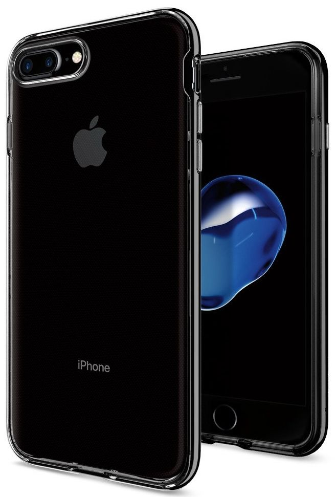 SGP Чехол iPhone 7 Plus Neo Hybrid Crystal Ultra Black