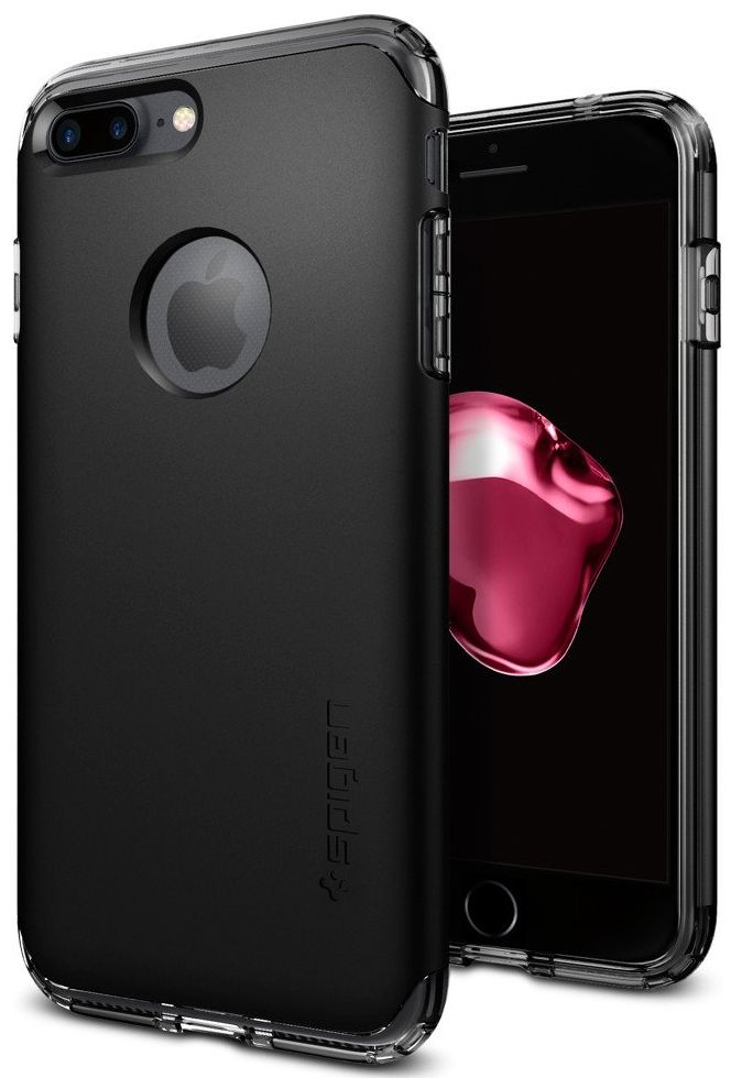 SGP Чехол iPhone 7 Plus Hybrid Armor Black