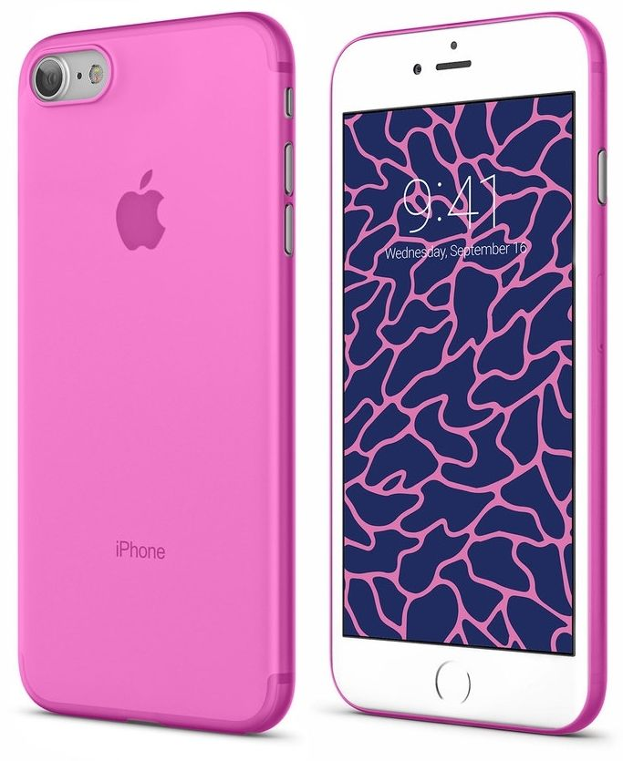 VIPE Flex iPhone 7 Ultra Slim 0.3 - Pink, картинка 2